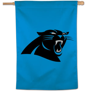 "Carolina Panthers  Vertical Flag - 28""x40"" #2"