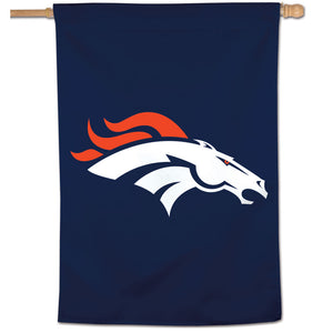 "Denver Broncos Vertical Flag - 28""x40"" #2"