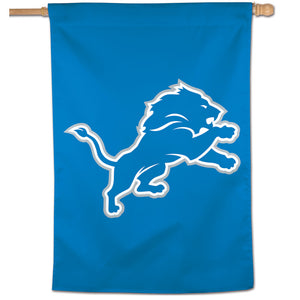 "Detroit Lions Vertical Flag - 28""x40"" #2"