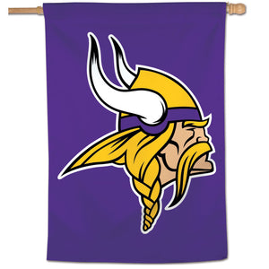 "Minnesota Vikings Vertical Flag - 28""x40"" #2"