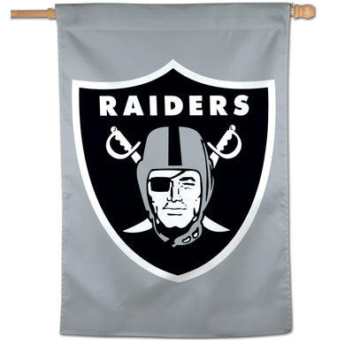 Oakland Raiders Vertical Flag - 28