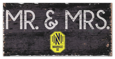 Nashville SC Mr. & Mrs. Wood Sign - 6