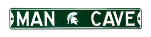 Michigan State Spartans Man Cave Metal Street Sign