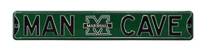 Marshall Thundering Herd Man Cave Metal Street Sign