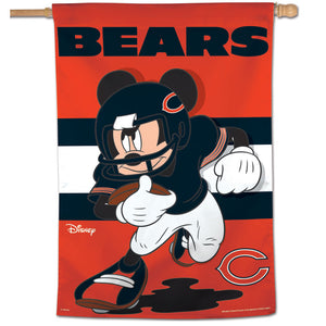 "Chicago Bears Vertical Flag - 28""x40""  #2"