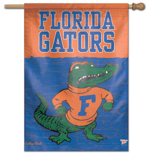 "Florida Gators College Vault Vertical Flag - 28"" X 40"""