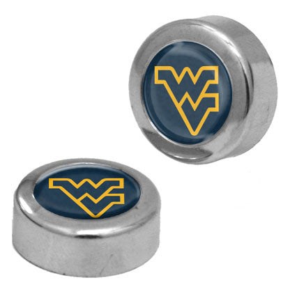 wvu football, wvu basketball, wvu license plate screw covers