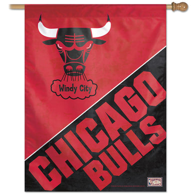 Chicago Bulls Hardwood Classics Vertical Flag 28