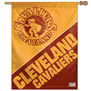 "Cleveland Cavaliers Hardwood Classics Vertical Flag 28""x40"""