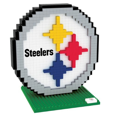 Pittsburgh Steelers BRXLZ 3D Logo Puzzle