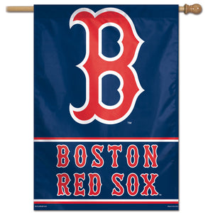 "Boston Red Sox Vertical Flag - 28""x40""  #2"