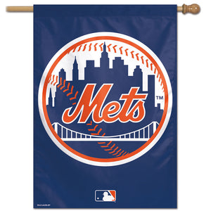 "New York Mets Vertical Flag - 28""x40"""