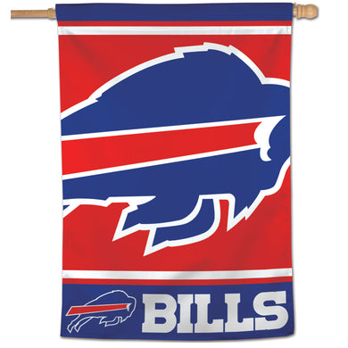 Buffalo Bills Mega Logo Vertical Flag - 28
