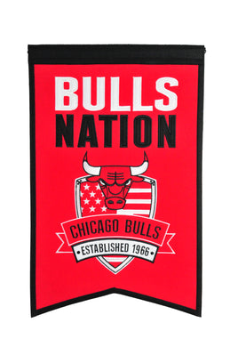 Chicago Bulls Nations Wool Banner - 14