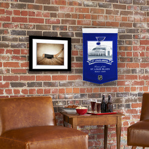 "Saint Louis Blues Arena #2 Banner - 15""x24"""