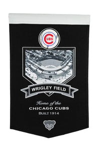 "Chicago Cubs Wrigley Field Banner - 15""x24"""