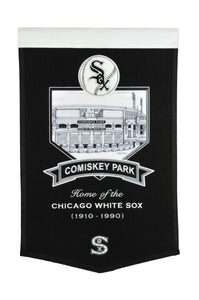 "Chicago White Sox Comiskey Park Banner- 15""x24"""