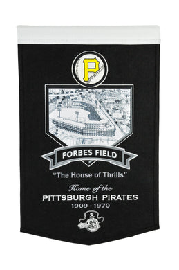 Pittsburgh Pirates Forbes Field Stadium Pirates Banner - 15