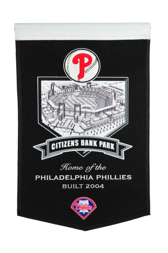 Philadelphia Phillies Citizens Bank Park Stadium Banner - 15