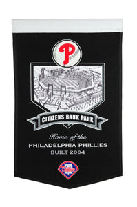 "Philadelphia Phillies Citizens Bank Park Stadium Banner - 15""x24"""