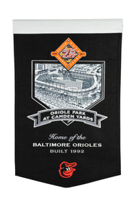 "Oriole Park at Camden Yards Banner - 15""x24"""