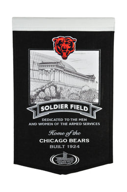 Chicago Bears Solider Field Stadium Banner - 15