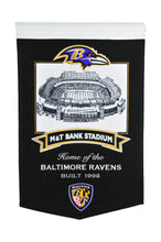 "Baltimore Ravens M&T Bank Stadium Banner - 15""x24"""