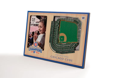 Chicago Cubs 3D StadiumViews Picture Frame