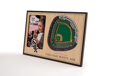 Chicago White Sox 3D StadiumViews Picture Frame