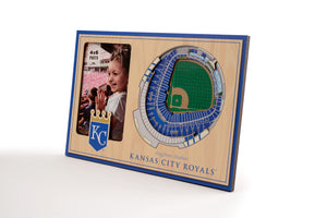 Kansas City Royals 3D StadiumViews Picture Frame