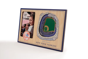New York Yankees 3D StadiumViews Picture Frame