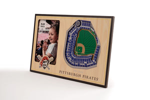 Pittsburgh Pirates 3D StadiumViews Picture Frame
