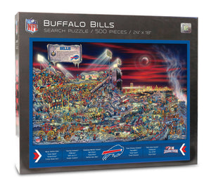 Buffalo Bills Puzzle Joe Journeyman Puzzle