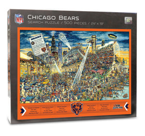 Chicago Bears Joe Journeyman Puzzle