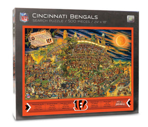 Cincinnati Bengals Joe Journeyman Puzzle