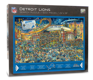 Detroit Lions Joe Journeyman Puzzle