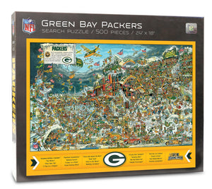 Green Bay Packers Joe Journeyman Puzzle