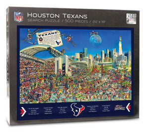 Houston Texans Joe Journeyman Puzzle