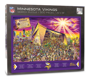 Minnesota Vikings Joe Journeyman Puzzle