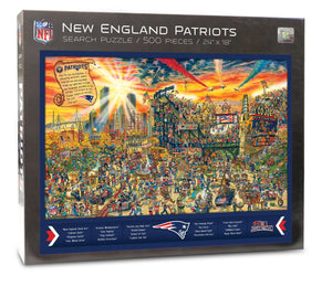 New England Patriots Joe Journeyman Puzzle
