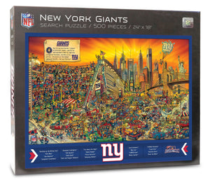 New York Giants Joe Journeyman Puzzle