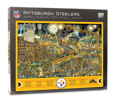 Pittsburgh Steelers Joe Journeyman Puzzle