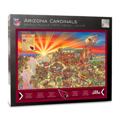 Arizona Cardinals Joe Journeyman Puzzle