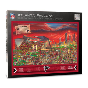 Atlanta Falcons Joe Journeyman Puzzle