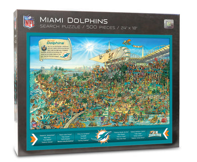 Miami Dolphins Joe Journeyman Puzzle