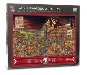 San Francisco 49ers Joe Journeyman Puzzle