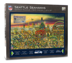 Seattle Seahawks Joe Journeyman Puzzle