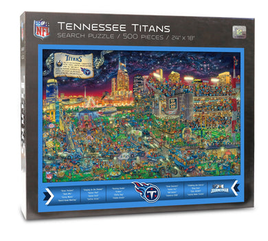 Tennessee Titans Joe Journeyman Puzzle