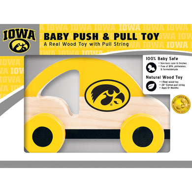 Iowa Hawkeyes Push & Pull Toy