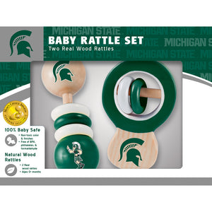 Michigan State Spartans Baby Rattles